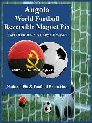 Angola Football Reversible Magnet Pin