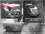 Official 1957 Ford Fairlane Convertible NASCAR 60th Anniversary Rare Collectible Pin