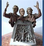 Three Tenors Encore Bronze Sculpture