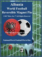 Albania Football Reversible Magnet Pin