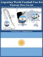 Argentina Football Fan Kit