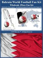 Bahrain Football Fan Kit