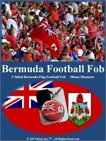 Bermuda Football Fob