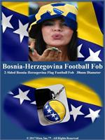 Bosnia-Herzegovina Football Fob
