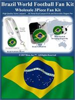 Brazil Football Fan Kit