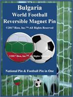 Bulgaria Football Reversible Magnet Pin
