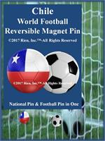 Chile Football Reversible Magnet Pin