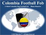 Colombia Football Fob