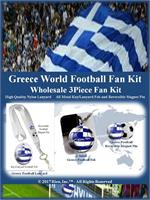 Greece Football Fan Kit