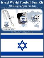 Israel Football Fan Kit