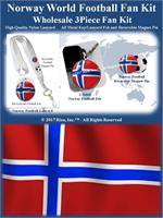 Norway Football Fan Kit