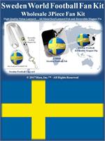 Sweden Football Fan Kit