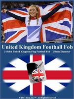 United Kingdom Football Fob