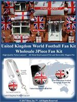 United Kingdom Football Fan Kit