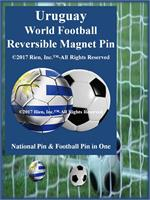Uruguay Football Reversible Magnet Pin