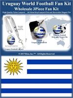 Uruguay Football Fan Kit
