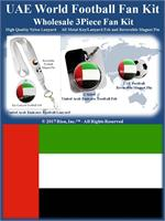 United Arab Emirates Football Fan Kit