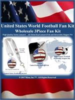 United States Football Fan Kit