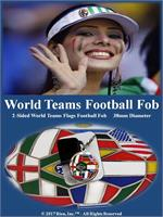 World Teams Football Fob